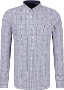 Niebieska koszula Tommy Hilfiger w stylu casual
