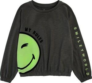 Czarna bluzka dziecięca Cool Club z bawełny