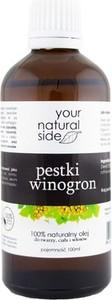 YOUR NATURAL SIDE Olej z Pestek Winogron Oczyszczony 100ml