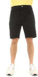 Czarne spodenki Carhartt WIP z bawełny w stylu casual