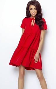 Czerwona sukienka Ivon