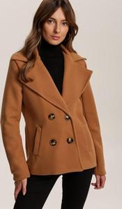 Brązowy płaszcz Renee