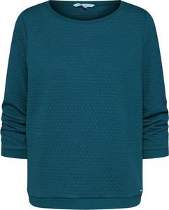 Zielona bluza Tom Tailor Denim w stylu casual krótka