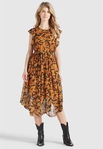 Sukienka khujo w stylu casual midi asymetryczna