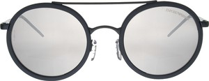 Czarne okulary damskie Emporio Armani