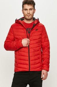 Czerwona kurtka 4F z tkaniny