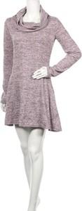 Fioletowa sukienka Doublju mini w stylu casual