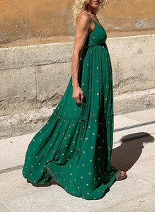 Zielona sukienka Sandbella maxi