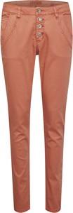 Pomarańczowe jeansy Cream w stylu casual