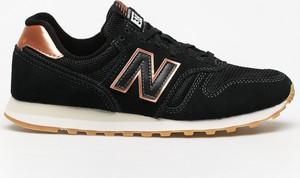 Buty sportowe New Balance z płaską podeszwą z zamszu 373