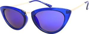 Niebieskie okulary damskie Hammer