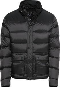 Czarna kurtka Barbour International w stylu casual