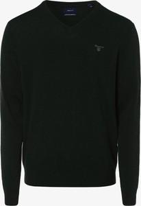 Zielony sweter Gant z wełny