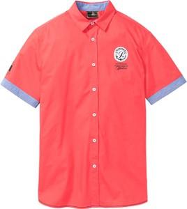 Różowa koszula bonprix bpc selection z krótkim rękawem