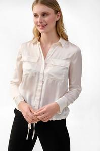 Bluzka ORSAY z długim rękawem z tkaniny