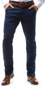 Niebieskie chinosy Dstreet w stylu casual