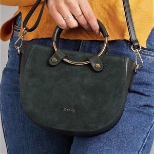 Zielona torebka Rovicky na ramię