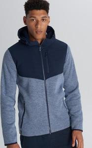 Niebieska kurtka Cropp