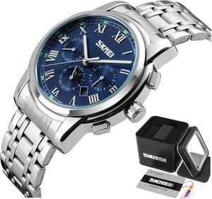 Zegarek męski SKMEI 9121 niebieski DATOWNIK