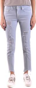 Jeansy Dondup z jeansu w street stylu