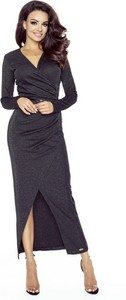 Czarna sukienka Dejmieto maxi