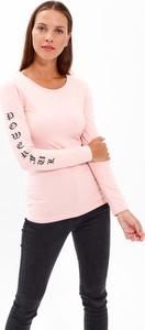 T-shirt Gate z bawełny w stylu casual