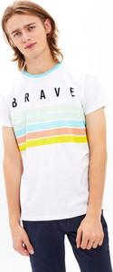 T-shirt Gate z krótkim rękawem z nadrukiem