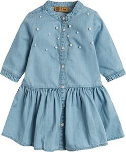 Niebieska sukienka dziewczęca Cool Club