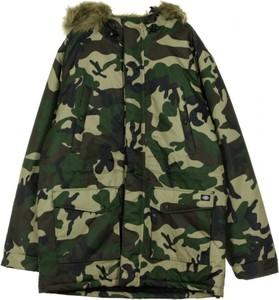 Zielona kurtka Dickies w militarnym stylu