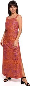 Sukienka Merg maxi na ramiączkach