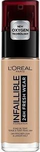 L'Oreal Paris Loreal Infallible 24H Fresh Wear Foundation Długotrwały podkład do twarzy 220 Sable Sand 30ml