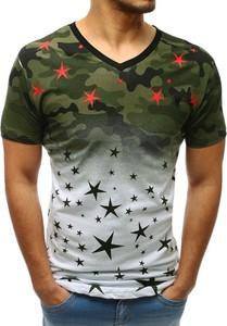T-shirt Dstreet z bawełny z krótkim rękawem
