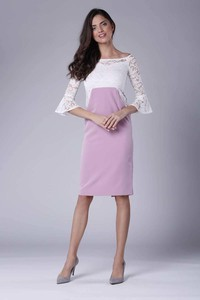 Sukienka Nommo dopasowana w stylu casual