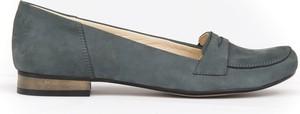 Baleriny Zapato w stylu klasycznym ze skóry