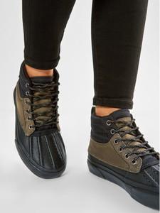 Vans Sneakersy Sk8-Hi Del Pato M VN0A34962UI1 Czarny