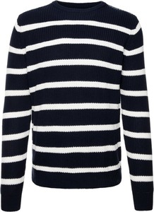 Granatowy sweter Guess