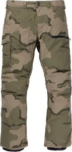 Spodnie sportowe Burton w militarnym stylu