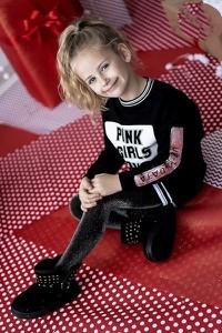 Tunika dziewczęca Małami z bawełny