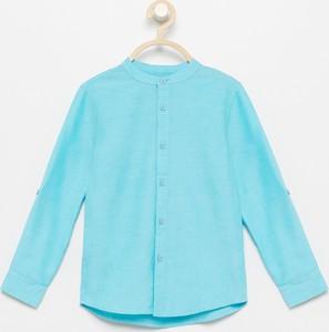 Turkusowa koszula dziecięca Reserved