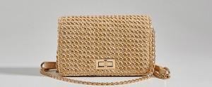 Złota torebka Mohito