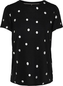 Czarny t-shirt Only