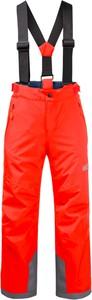 Czerwone spodnie dziecięce Jack Wolfskin