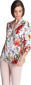 Bluzka Nife z długim rękawem z dekoltem w kształcie litery v