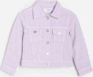 Fioletowa kurtka dziecięca Reserved