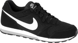 Czarne buty sportowe dziecięce Nike z zamszu