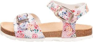 Buty dziecięce letnie Bio Pingüin na rzepy ze skóry dla dziewczynek
