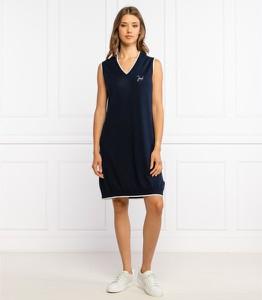 Sukienka Joop! w stylu casual z dekoltem w kształcie litery v