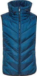 Niebieska kamizelka Esprit krótka