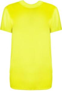 Żółta bluzka Twinset w stylu casual