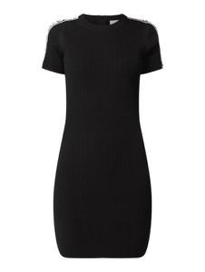 Czarna sukienka Michael Kors mini z krótkim rękawem